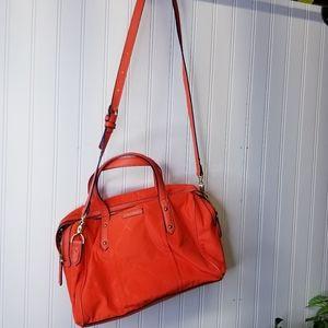 Vera Bradley bright orange nylon purse